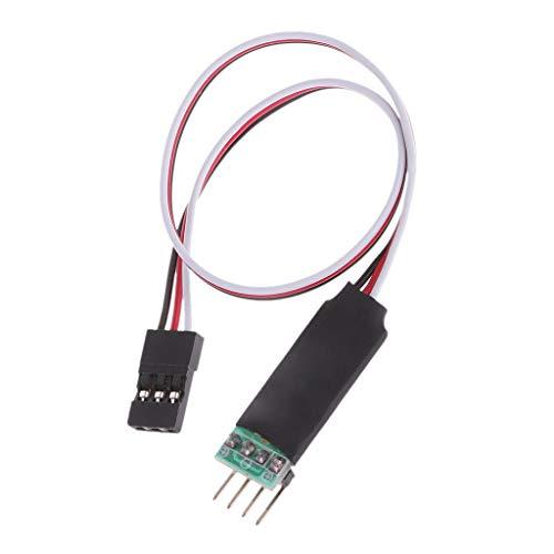 Interruttore RC per auto nuovo cavo di estensione del sistema di commutatore di controllo della luce LED per auto 3CH RC
