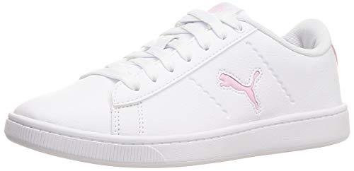 PUMA Damen Vikky V2 CAT Sneaker, Weiß Pink Lady, 38 EU