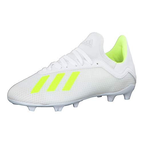 adidas X 18.3 FG J, Zapatillas de Deporte Unisex Niño, Amasol/Ftwbla 000, 36 EU