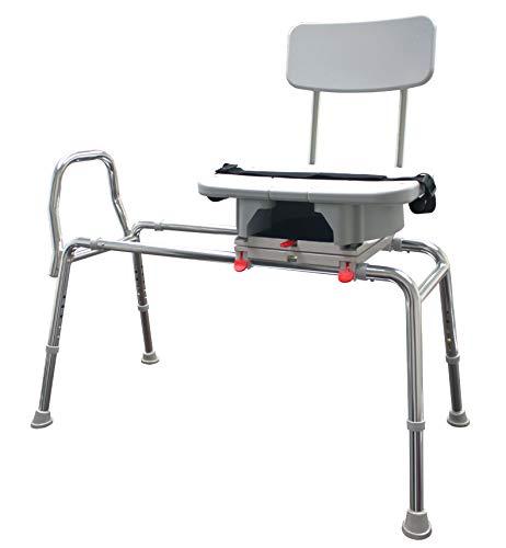 Eagle Health Supplies Swivel Slide Bench w/CutOut (XL) 77693