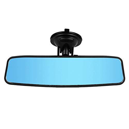 Espejo retrovisor para bebé, asiento trasero de coche, espejo retrovisor para bebé ajustable, espejo de gran angular azul