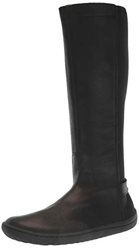 Vivobarefoot Ryder, Womens Calf high Leather Riding Boot Black