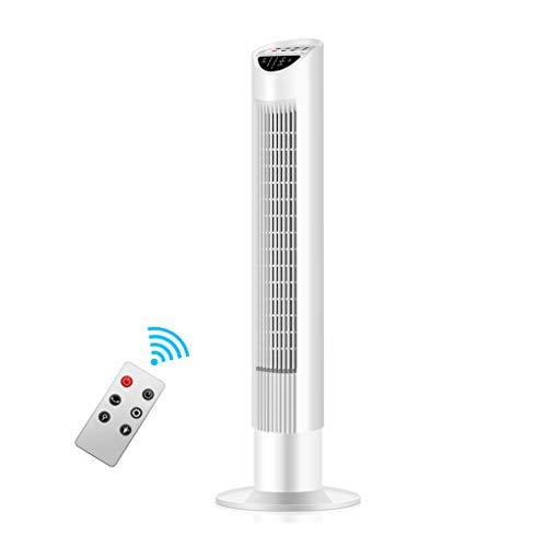 Raffreddatore evaporativo Ventilatore A Torre con Telecomando, Ventilatore A Torre per Uso Domestico