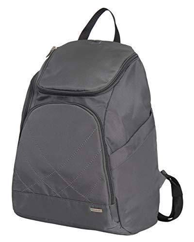 Travelon Anti Theft Classic Backpack (DARK GREY W/TEAL LINING)