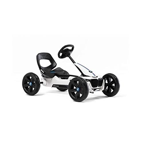 BERG Pedal-Gokart Reppy BMW mit Soundbox   KinderFahrzeug, Tretfahrzeug mit hohem Sicherheitstandard, Mit Option zur Soundbox, Kinderspielzeug geeignet für Kinder im Alter von 2.5-6 Jahren