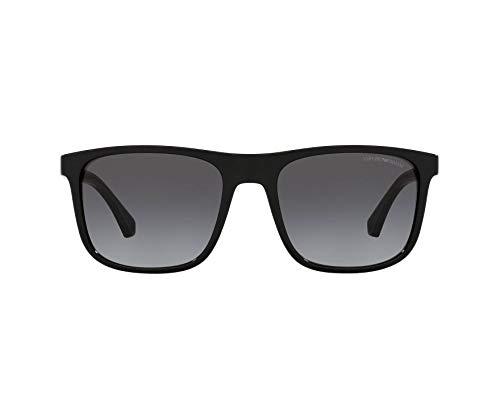 Emporio Armani Sonnenbrille EA4129 50018G Sonnenbrille Herrenfarbe Schwarzgrau Linsengröße 56 mm