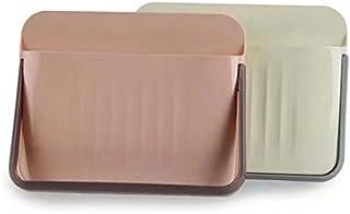 WDONE スリッパ収納 壁掛けスリッパ ホルダービニールスリッパ ホルダー室内スペースを節約バスルーム玄関収納 靴箱2個セット