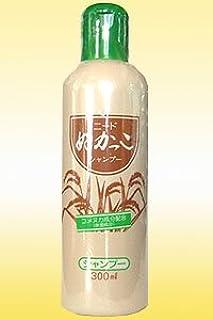 ニードぬかっこシャンプー(300ml)ニード洗粉をベースに、より米ぬかの特長を生かした自然派化粧品