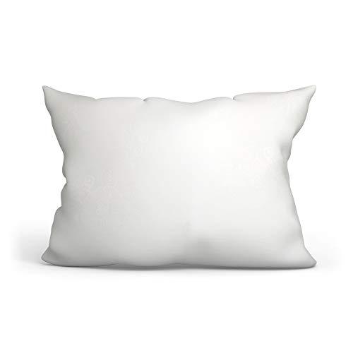 Amazinggirl Almohada, 70 x 50 cm, Microfibra, para alérgicos, Blanco (Blanco, 50 x 70 cm)