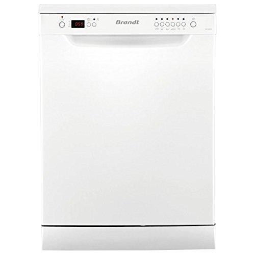 Brandt DFH12227W Independiente 12cubiertos A++ lavavajilla - Lavavajillas (Independiente, Blanco, Tamaño completo (60 cm), Blanco, Botones, 1,35 m)