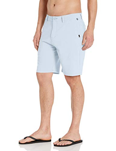 Quiksilver Herren Union Oxford Amphibian 20 Walk Legere Shorts, Blue Yonder, 46