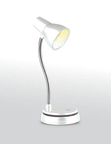 Little Lamp - LED Booklight Leselampe - Weiß: Retro-Buchleuchte und Mini-Tischlämpchen: Klassisches Lampendesign im Miniformat - als Buch-, Notebook oder Tischlampe
