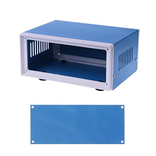 YoungerY (1 ud. Caja de Conexiones Bricolaje Metal Proyecto de cáscara Caso 170 * 130 * 80mm