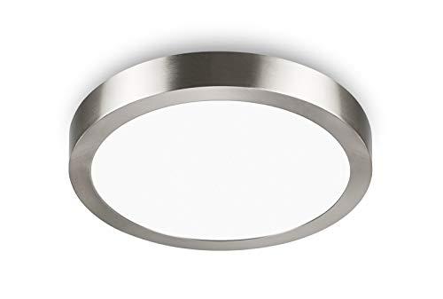LED Deckenleuchte Rund - Unicozin 24W LED Panel Deckenlampe, Ersetzt 150W Glühbirne,Warmweiß(3000K), 2000LM, Ø29.5cm, Nicht Dimmbar, Metall Rahmen Led Deckenleuchten