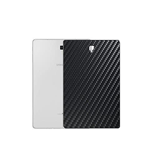 Vaxson 2 Unidades Protector de pantalla Posterior, compatible con Samsung Galaxy Tab S4 T835 T830 10.5', Película Protectora Skin Piel Negro [No Carcasa Case ]