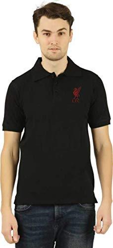 Desconocido Camiseta Oficial de Liverpool para Hombre y Mujer Negro Negro (M