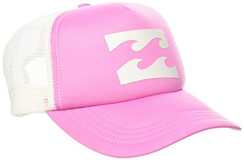 BILLABONG Trucker Hat-para Niñas Gorra Dad, Pretty Pink, U