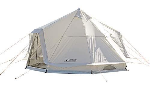 キャプテンスタッグ(CAPTAIN STAG) テント ワンポールテント DXオクタゴン 460UV 【サイズ460×460×H300cm】...