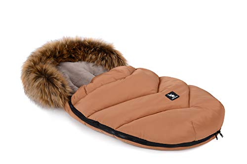 Saco de dormir Saco de dormir Cottonmoose Mini Moose Yukon para silla de paseo silla de coche (amber)