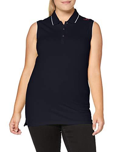 CMP 39d8386 Polo pour Femme L Noir/Bleu