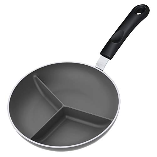Our #6 Pick is the Triple Divided Skillet Divided Frying Pan