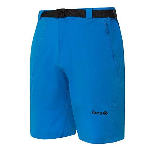 Izas Biescas Pantalones Cortos Trekking, Hombre, Azul Cian, 3XL