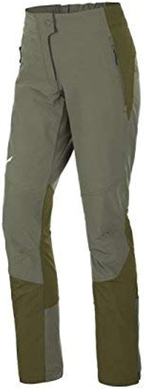 (14 UK, green (Oil Green   5750))  Salewa AGNER Orval Dst W  Women's Waterproof Trousers