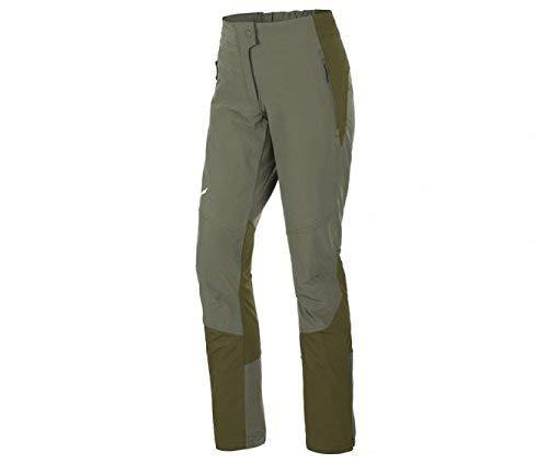 Salewa, Agner Orval Dst W Pnt, Pantalone Da Alpinismo, Donna, Verde (Oil Green/5750), 44/38