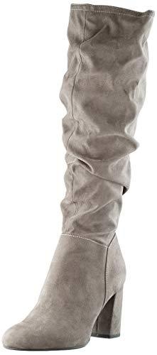 s.Oliver Damen 5-5-25507-23 Hohe Stiefel, Grau (Grey 200), 39 EU