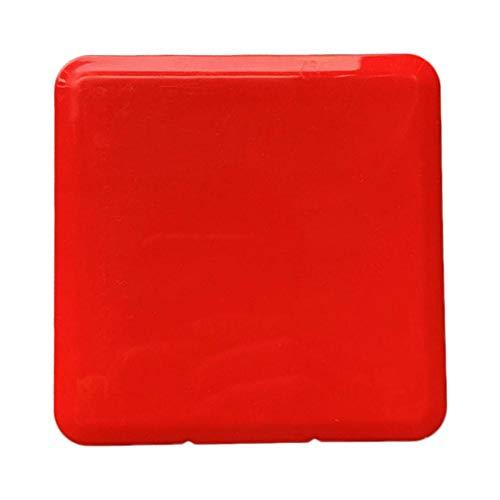 Dinapy Maskenetuis, Masken-Aufbewahrungstasche Aufbewahrungsbox Tragbare Flache Kunststoffbox Reinigungsbox Aufbewahrungstasche Aufbewahrungsclips Für Mundgesichtsabdeckung Für Reisen Im Freien