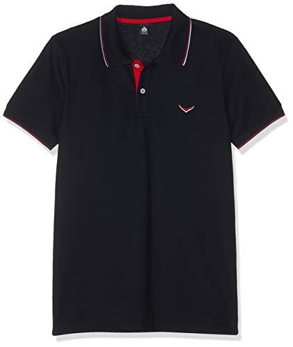 Trigema Herren 621632119 Poloshirt, Blau (Navy 046), Large (Herstellergröße: L)