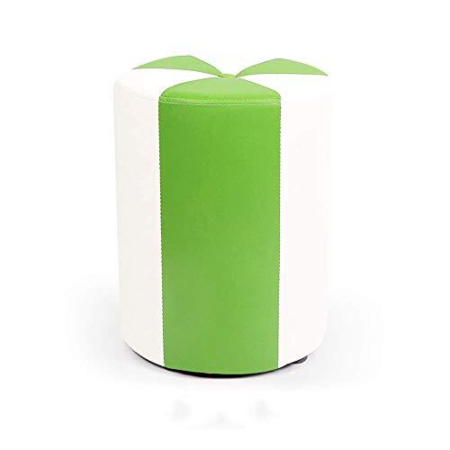 Gewatteerde zitzak van PU-leer, waterdicht, modern, geschikt voor thuisgebruik, gevoerde zitzak van leer, voor volwassenen, make-uptafel van massief hout, voor woonkamer, slaapkamer (groen) Nunlea4054r-3 Nunlea4054r-3