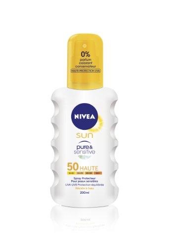 Nivea Sun - Spray Pure & Sensitive FPS50 - 200 ml