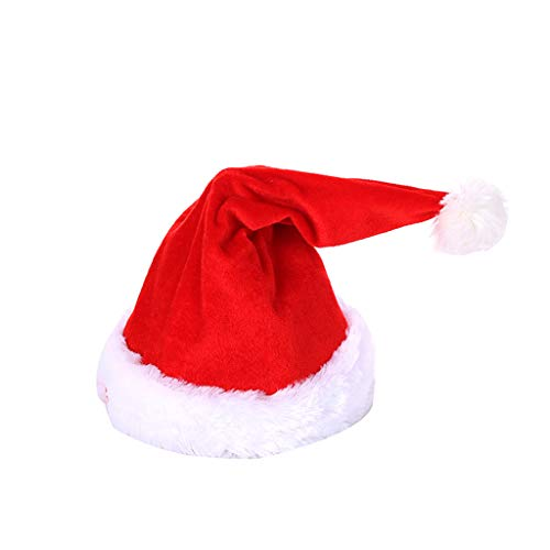 Sayla Weihnachten Deko Rockende Weihnachtsmütze Musik Tanzend Singend Weihnachten Nikolaus Mütze