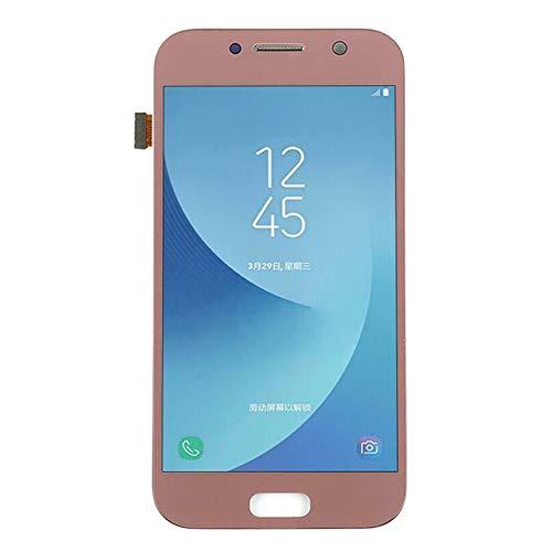 Dyyicun12 LCD-scherm Touch Digitizer, vervanging LCD Touch Screen Digitizer Onderdelen voor Samsung Galaxy A5 2017 SM-A520 roze