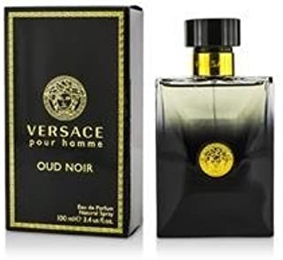 Versace Oud Noir Eau De Parfum Spray For Men 100Ml/3.4Oz