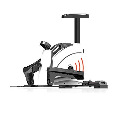 BZLLW Bicicletas estáticas de Spinning, Bicicletas de Ejercicios, Entrenador de Paso a Paso elíptico, Entrenador de trío, Bicicleta elíptica y Vertical/recostada (Size : B)