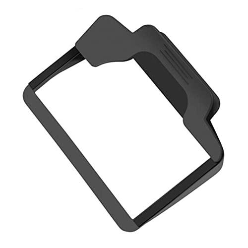 JIABIN Songz Store Pantalla de 5 Pulgadas Sun Shade Visor Shield Coche GPS Cubierta Bloque Bloque Accesorios DE Cap (Color : Black)