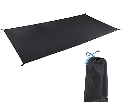 MIER 1-2 Person Ultralight Waterproof Footprint Outdoor Camping Tent Tarp Canopy Blanket Picnic Ground Sheet Mat, Ultralight Tent Fitted, 2 Person