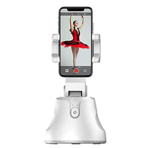 Selfie Stick, Gimbal Stabilizer für Smartphones, 360 ° Drehung Auto Face und Object Tracking Smart Shooting Kamera Handyhalterung, Männer Frauen Selfie Halterung