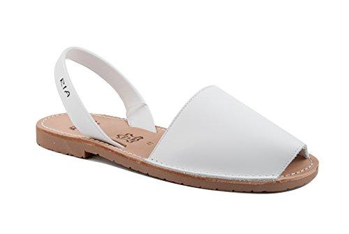 Ria Zapatos Mujer Menorquinas Avarcas 2002 Blanco 35