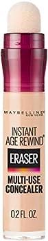 Maybelline Instant Age Rewind Eraser Dark Circles Treatment Multi-Use Concealer Light 0.2 Fl Oz  Pack of 1