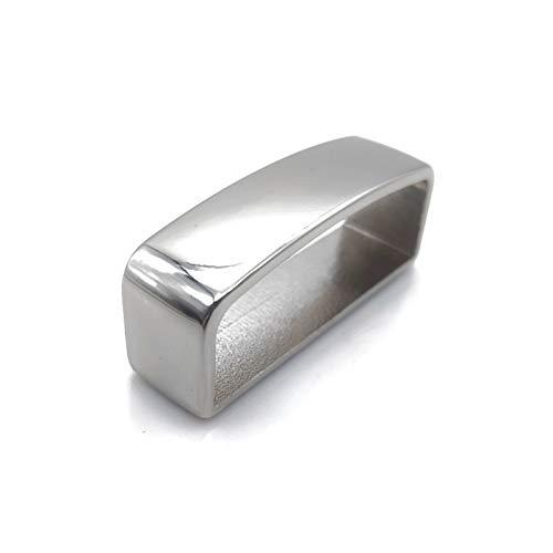 Hebillas de cinturón para hombre Cinturones de latón Cinturón D Forma Cinturón Correa Correa Anillo Hebilla Cuero Cataboración Bolsa Correa Correa Cinturón Plata Oro Negro Metal Correas Accesorios Mod