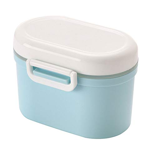 Portable Powder Dispenser, Infant Toddler Children Milk Powder Container for Travel Feeding, Food Storage, Candy Fruit Box, Snack Containers
