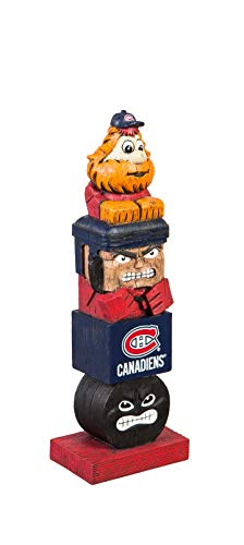 Team Sports America Evergreen NHL Montreal Canadiens Tiki Totem