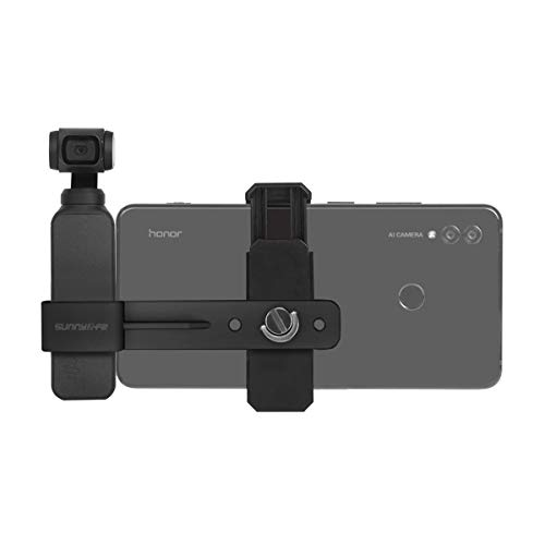 O'woda Soporte para teléfono con cámara portátil Soporte de extensión Fijo Soporte de telefonía móvil para dji OSMO Pocket