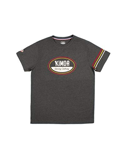 Kimoa Camiseta North Loop, Unisex Adulto, Gris_Marengo, XXL
