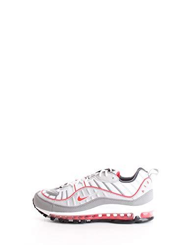 Nike Air Max 98, Chaussure de Piste d'athlétisme Homme, Gris Partícula Track Red Iron Grey, 41 EU