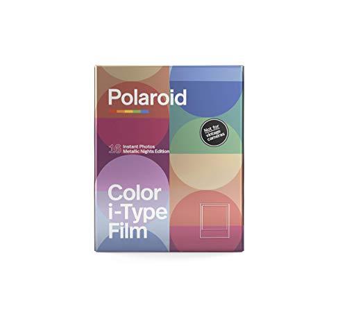 ポラロイドオリジナルズ i-タイプカラーフィルム - メタリックナイトエディション ダブルパック (写真16枚) (6035)