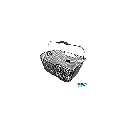 Motodak mand AR staal zwart (bevestiging aan bagagedrager), 410 x 310 x 160 mm